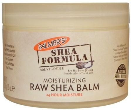 Shea Formula with Vitamin E, Moisturizing Raw Shea Balm, 7.25 oz (200 g) by Palmers, 健康,皮膚,身體黃油,沐浴,美容,乳木果油 HK 香港