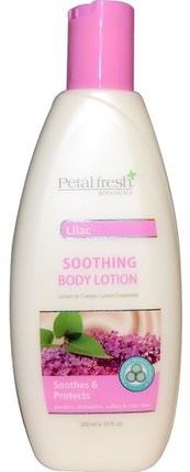 Soothing Body Lotion, Lilac, 10 fl oz (300 ml) by Petal Fresh, 洗澡,美容,潤膚露 HK 香港