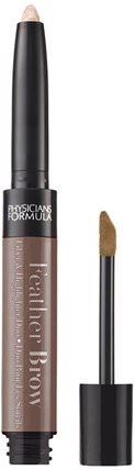 Feather Brow, Brunette, 0.021 oz (0.6 g) by Physicians Formula, 洗澡,美容,化妝 HK 香港