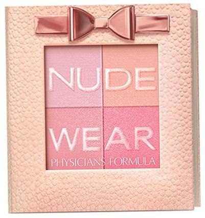 Nude Wear, Glowing Nude Blush, Natural, 0.17 oz (5 g) by Physicians Formula, 洗澡,美容,化妝,臉紅 HK 香港