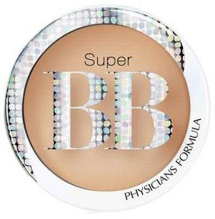 Super BB, All-in-1 Beauty Balm Powder, Light/Medium, 0.29 oz (8.3 g) by Physicians Formula, 美容,面部護理,spf面部護理,沐浴,化妝,粉餅 HK 香港