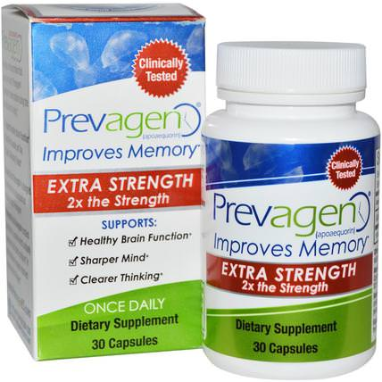 Prevagen Extra Strength, 30 Capsules by Prevagen (Quincy-Bioscience), 健康,注意力缺陷障礙,添加,adhd,腦 HK 香港