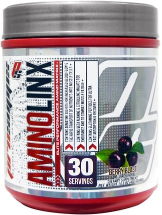 AminoLinx Elite Performance Amino Matrix, Berry Blast, 14.3 oz (405 g) by ProSupps, 健康 HK 香港