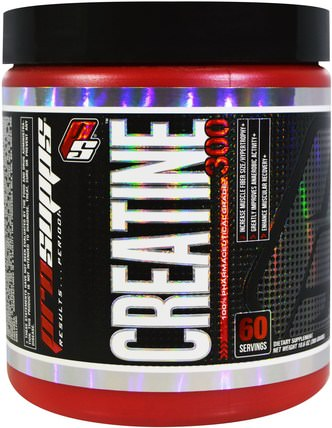 Creatine 300, 100% Pharmaceutical Grade, 10.6 oz (300 g) by ProSupps, 運動,肌酸 HK 香港