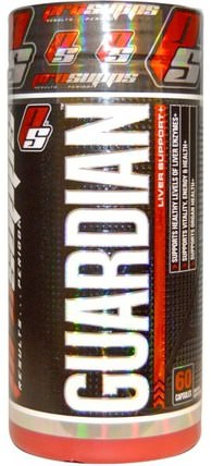 Guardian, Liver Support +, 60 Capsules by ProSupps, 健康,排毒 HK 香港