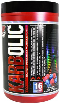 Karbolic, Super-Premium Muscle Fuel, Blue Razz, 2.3 lbs (1040 g) by ProSupps, 運動,鍛煉,肌肉 HK 香港