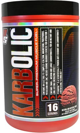 Karbolic, Super Premium Muscle Fuel, Chocolate, 2.3 lbs (1024 g) by ProSupps, 運動,鍛煉,肌肉 HK 香港