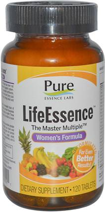 LifeEssence, The Master Multiple, Womens Formula, 120 Tablets by Pure Essence, 維生素,女性多種維生素 HK 香港