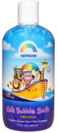 Kids Bubble Bath, Original, 12 fl oz (360 ml) by Rainbow Research, 洗澡,美容,泡泡浴,孩子泡泡浴 HK 香港