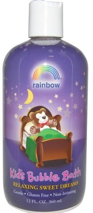 Kids Bubble Bath, Relaxing Sweet Dreams, 12 fl oz (360 ml) by Rainbow Research, 洗澡,美容,泡泡浴,孩子泡泡浴 HK 香港