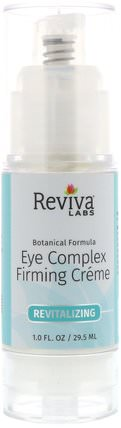 Eye Complex Firming Creme, 1.0 fl oz (29.5 ml) by Reviva Labs, 美容,面部護理,面霜,乳液,眼霜 HK 香港
