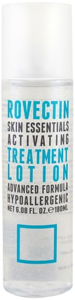 Skin Essentials Activating Treatment Lotion, 6.08 fl oz (180 ml) by Rovectin, 美容,面部護理,面部調色劑 HK 香港