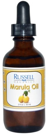 Marula Oil, 2 fl oz (60 ml) by Russell Organics, 健康,皮膚,沐浴,美容油 HK 香港