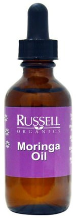 Moringa Oil, 2 fl oz (60 ml) by Russell Organics, 健康,皮膚,沐浴,美容油 HK 香港