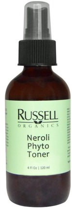 Russell Organics, Neroli Phyto Toner, 4 fl oz (120 ml) 美容,面部調色劑