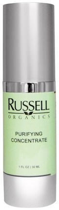 Purifying Concentrate, 1 fl oz (30 ml) by Russell Organics, 美容,面部護理,面霜,乳液 HK 香港