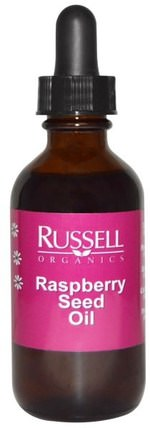 Raspberry Seed Oil, 2 fl oz (60 ml) by Russell Organics, 健康,皮膚,沐浴,美容油 HK 香港