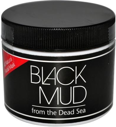 Black Mud, All Natural Facial Mask, 3 oz by Sea Minerals, 美容,面膜,泥面膜 HK 香港