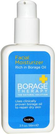 Borage Therapy, Facial Moisturizer, 3 fl oz (89 ml) by Shikai, 美容,面部護理,面霜,乳液 HK 香港