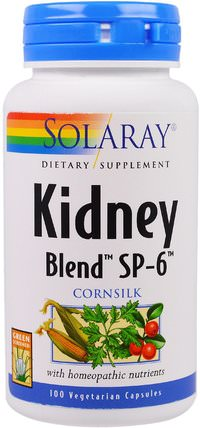 Kidney Blend SP-6, 100 Veggie Caps by Solaray, 健康,腎臟 HK 香港