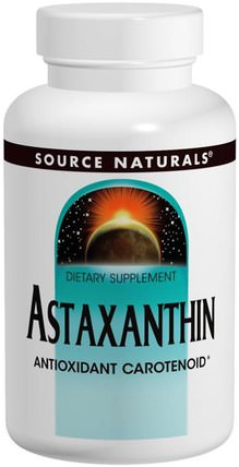 Astaxanthin, 2 mg, 120 Softgels by Source Naturals, 補充劑,抗氧化劑,蝦青素 HK 香港