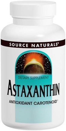 Astaxanthin, 2 mg, 30 Softgels by Source Naturals, 補充劑,抗氧化劑,蝦青素 HK 香港