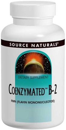 Coenzymated B-2, Sublingual, 60 Tablets by Source Naturals, 補充劑,輔酶b維生素 HK 香港