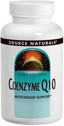 Coenzyme Q10, 200 mg, 60 Capsules by Source Naturals, 補充劑,輔酶q10,coq10 200毫克 HK 香港