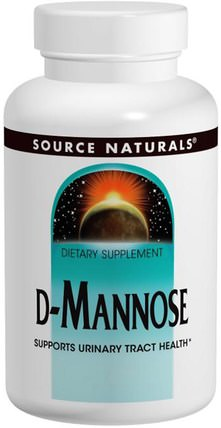 D-Mannose, 500 mg, 120 Capsules by Source Naturals, 補充劑,d-甘露糖 HK 香港
