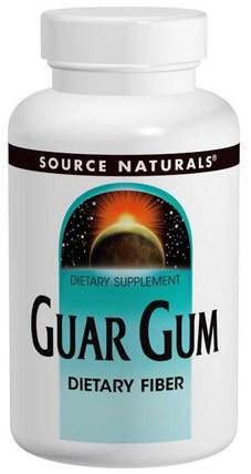 Guar Gum, 16 oz (453.6 g) by Source Naturals, 補品,纖維,瓜爾豆膠 HK 香港