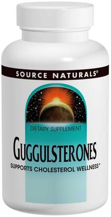 Guggulsterones, 37.5 mg, 120 Tablets by Source Naturals, 草藥,guggul(commiphora mukul),感冒和病毒,保健配方產品 HK 香港