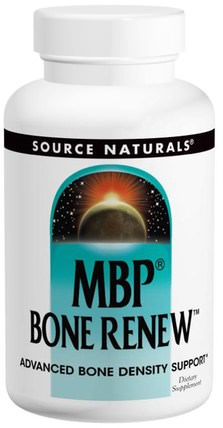 MBP Bone Renew, 120 Capsules by Source Naturals, 健康,骨骼,骨質疏鬆症 HK 香港