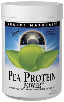 Pea Protein Power, 32 oz (907 g) by Source Naturals, 補充劑,蛋白質 HK 香港