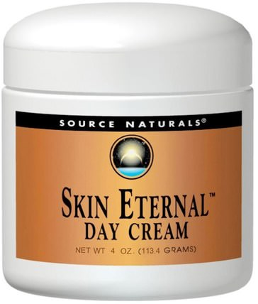 Skin Eternal Day Cream, 4 oz (113.4 g) by Source Naturals, 健康,女性,α硫辛酸乳膏,乳霜,乳液 HK 香港