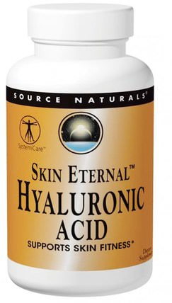 Skin Eternal, Hyaluronic Acid, 50 mg, 120 Tablets by Source Naturals, 健康,骨骼,骨質疏鬆症,膠原蛋白,女性,美容 HK 香港