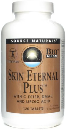 Skin Eternal Plus, 120 Tablets by Source Naturals, 健康,女性,美麗 HK 香港