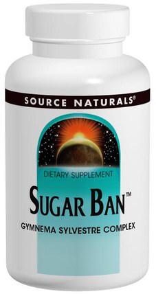 Sugar Ban, 75 Tablets by Source Naturals, 健康,血糖,草藥,gymnema HK 香港
