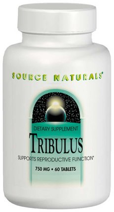 Tribulus Extract, 750 mg, 60 Tablets by Source Naturals, 運動,tri藜 HK 香港