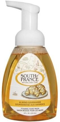 Foaming Hand Wash, Almond Gourmande, 8 fl oz (236 ml) by South of France, 洗澡,美容,肥皂,泡沫肥皂 HK 香港