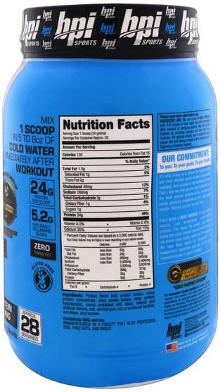 運動,補品,乳清蛋白 - BPI Sports, Best Protein, Advanced 100% Protein Formula, Chocolate Brownie, 2.1 lbs (952 g)