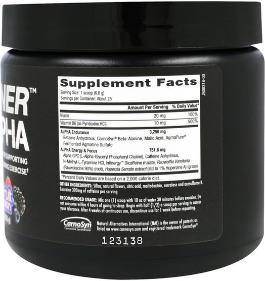 運動,鍛煉,肌肉 - Betancourt, D-Stunner Alpha, Fruit Passion, 5.8 oz (165 g)