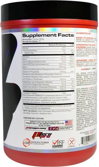 運動,鍛煉,肌肉 - ProSupps, Karbolic, Super Premium Muscle Fuel, Chocolate, 2.3 lbs (1024 g)