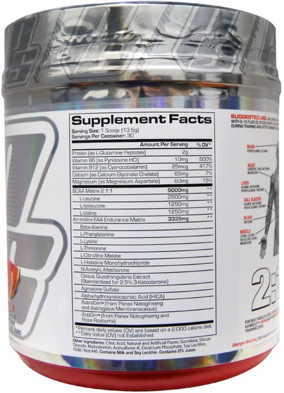 運動,鍛煉,運動 - ProSupps, AminoLinx Elite Performance Amino Matrix, Watermelon, 14.3 oz (405 g)