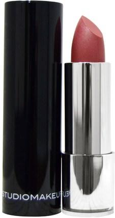 Studio Makeup, Luster Gloss Lipstick, Vintage Pink, 0.14 oz (4 g) 洗澡,美容,唇部護理,唇膏