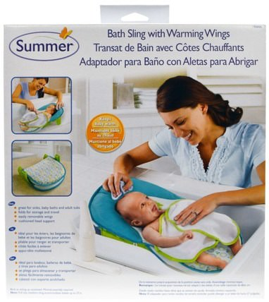 Bath Sling with Warming Wings, 1 Set by Summer Infant, 兒童健康,兒童洗澡,嬰兒,兒童 HK 香港