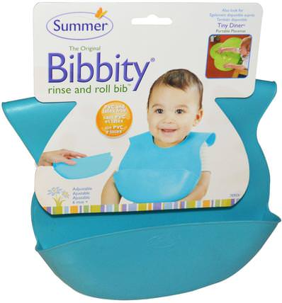 Bibbity, Rinse and Roll Bib, 1 Bib by Summer Infant, 兒童健康,兒童食品,嬰兒餵養和清潔 HK 香港