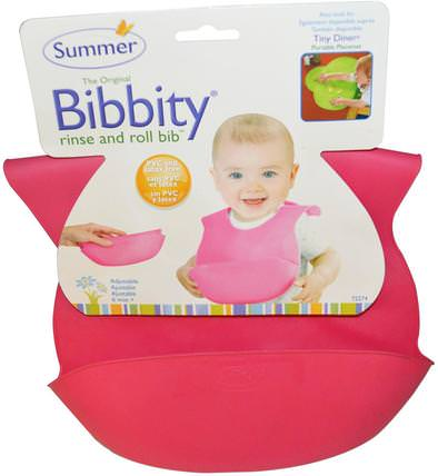 Bibbity, Rinse and Roll Bib, 6 Mos+, 1 Bib by Summer Infant, 兒童健康,兒童食品,嬰兒餵養和清潔 HK 香港