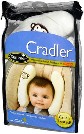 Cradler, Adjustable Head Support by Summer Infant, 兒童健康,嬰兒,兒童,嬰兒旅行配件 HK 香港