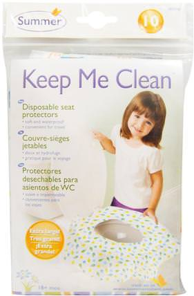 Keep Me Clean, Disposable Seat Protectors, 10 Seat Protectors by Summer Infant, 兒童健康,嬰兒,兒童,嬰兒旅行用品,如廁訓練 HK 香港