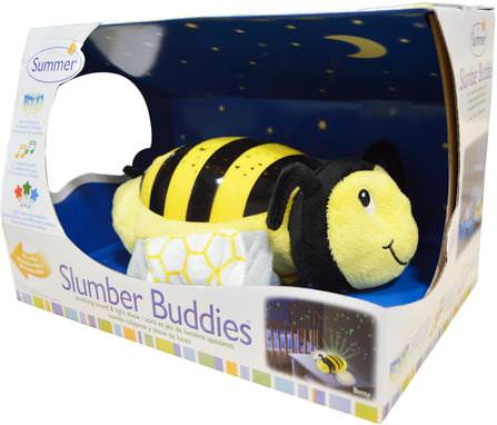 Slumber Buddies, Bumble Bee Betty, 1 Slumber Buddie by Summer Infant, 兒童健康,兒童玩具,嬰兒,兒童 HK 香港